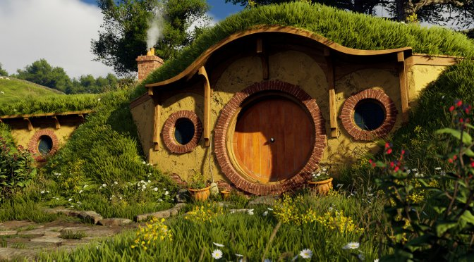 The Lord of the Rings The Shire Unreal Engine 4