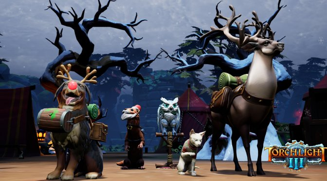 Torchlight 3 receives its largest content update to date