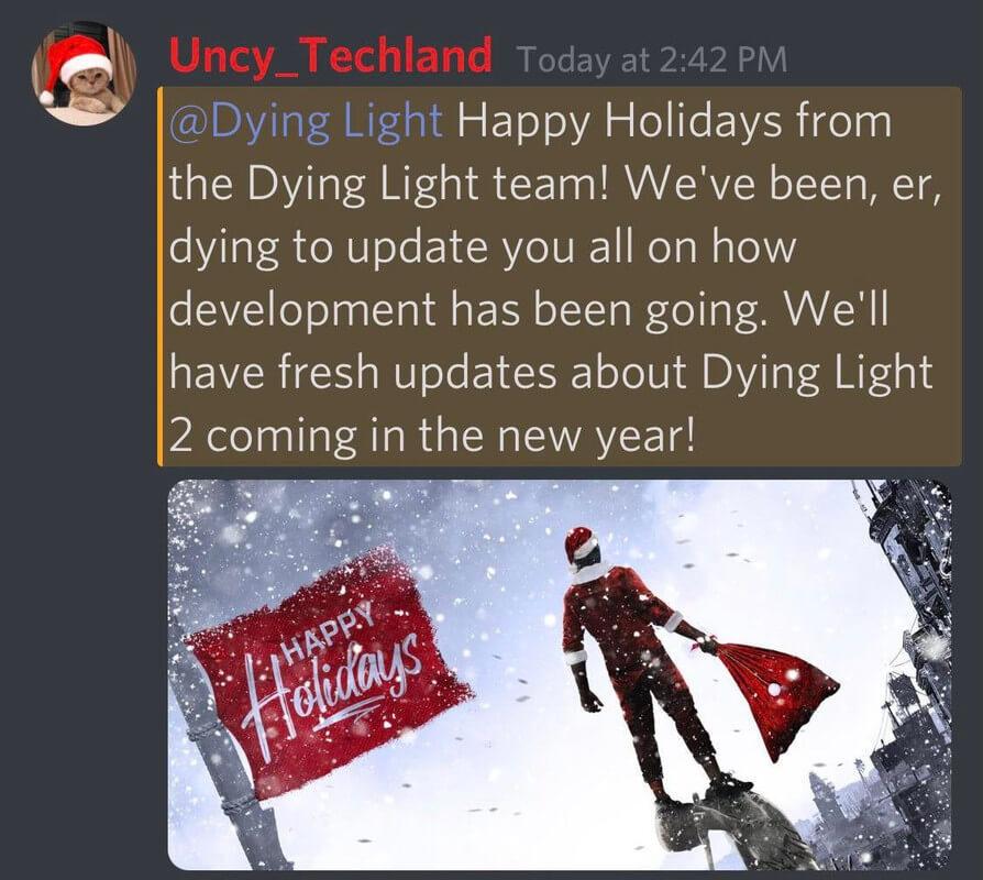 dying light 2 news 2021