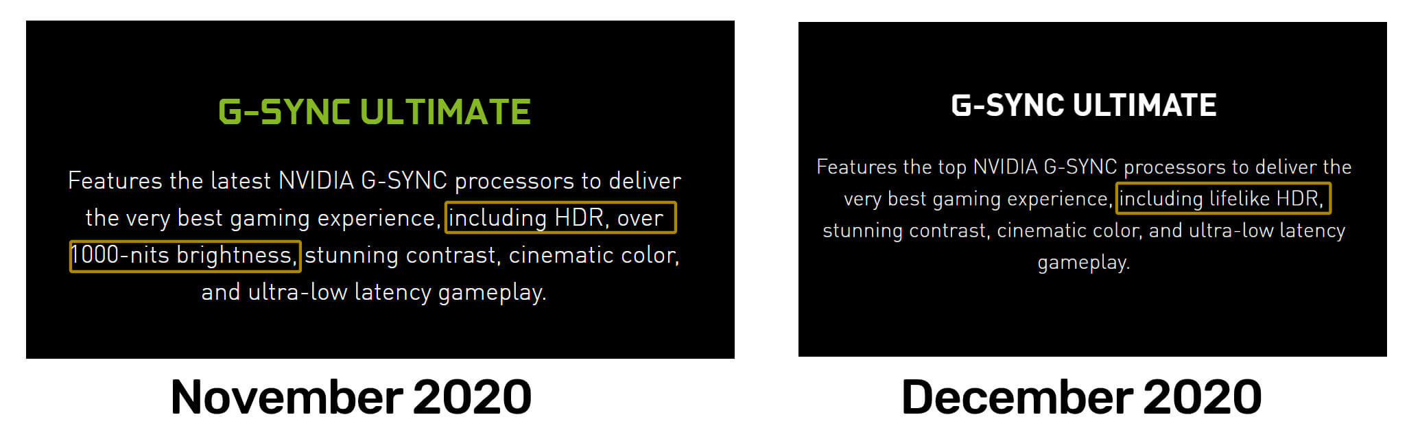 Lower NVIDIA G-Sync Ultimate HDR Specifications-2