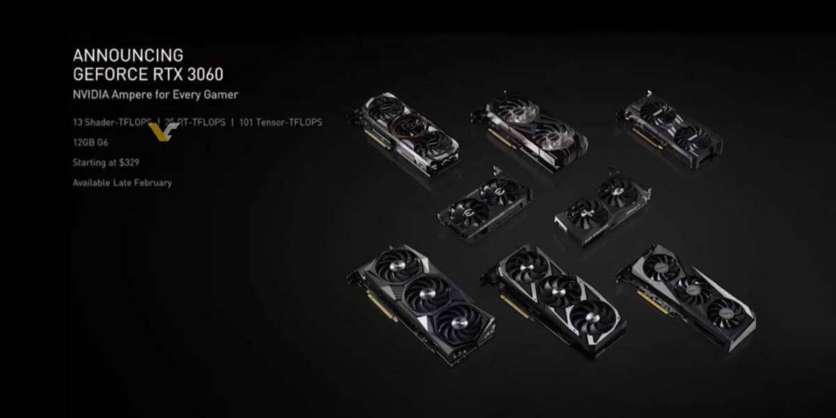 NVIDIA RTX 3060 12GB VRAM