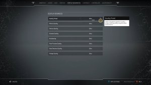 Outriders graphics settings-2