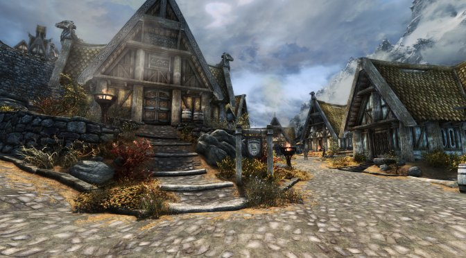 This 4.8GB Mod for Skyrim overhauls all of its architecture textures