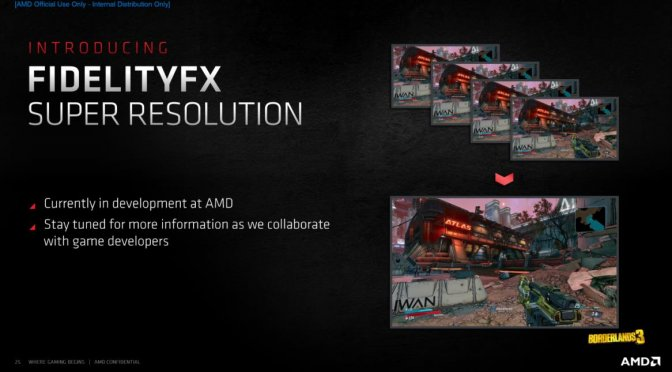 AMD Fidelity FX Super Resolution