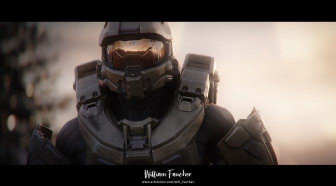 Halo Cinematic in Unreal Engine 4