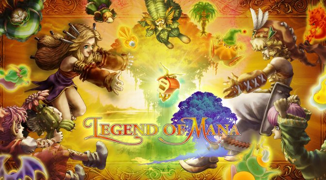 Here are 8 minutes of gameplay footage from Legend of Mana Remaster