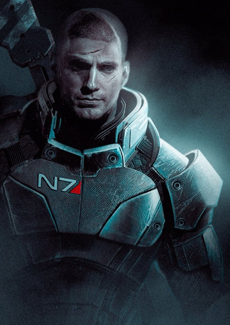 Mass Effect Henry Cavill fan art