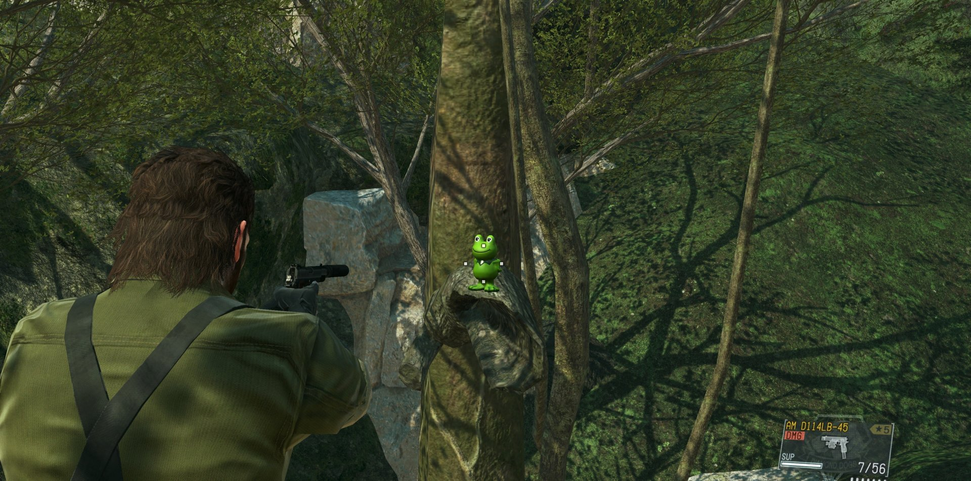 Metal Gear Solid 3 Remake Mod in MGS5-1
