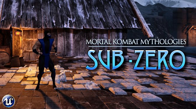 Mortal Kombat Mythologies Sub-Zero Fan Remake in Unreal Engine 4 released
