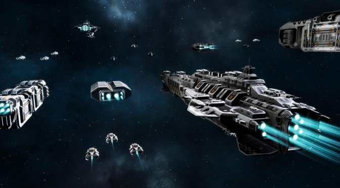 Star Exodus is a new space RTS, inspired by Battlestar Galactica and Homeworld