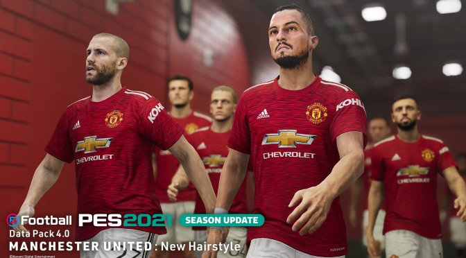 eFootball PES 2021 Season Update Data Pack 4.0 now available for download