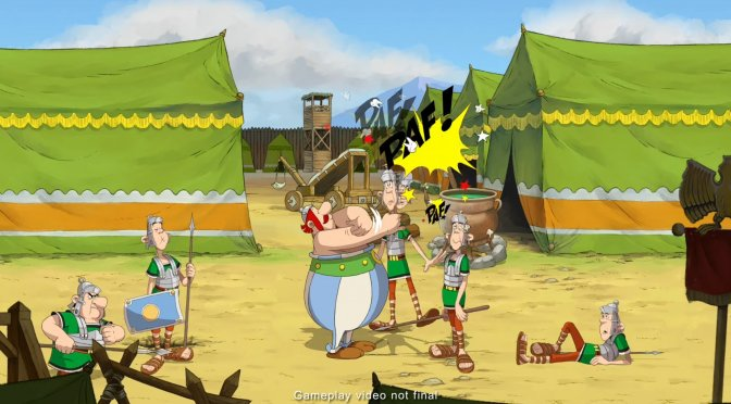 Asterix and Obelix: Slap them All! announced for PC, coming out in Fall 2021