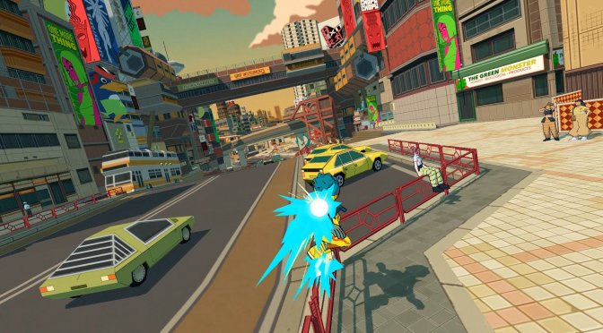 Bomb Rush Cyberfunk is a new game that is heavily inspired by Jet Set Radio