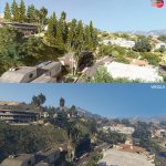Grand Theft Auto 5 Remake Mod comparison screenshots-1