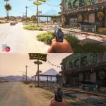 Grand Theft Auto 5 Remake Mod comparison screenshots-5