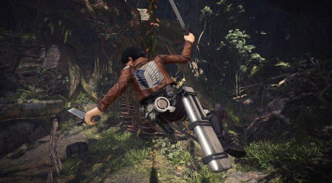 Levi Ackerman Monster Hunter World