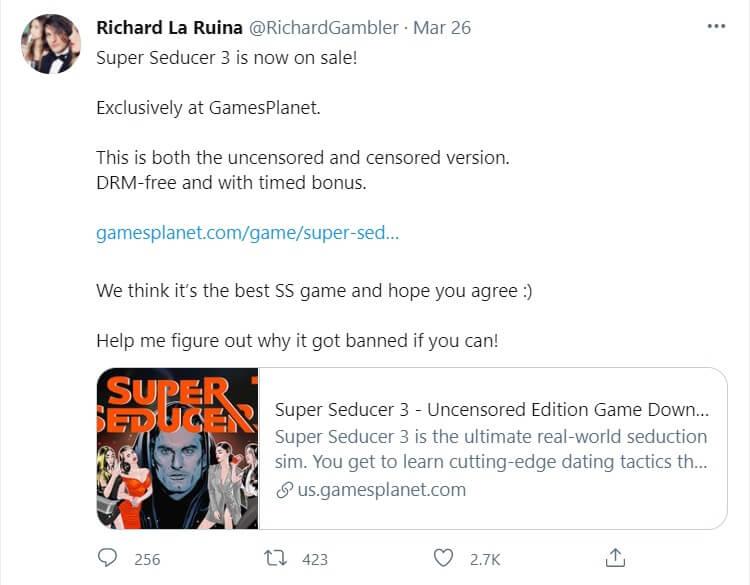 Super Seducer 3 GamesPlanet