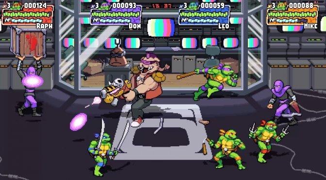 Teenage Mutant Ninja Turtles Shredder's Revenge feature