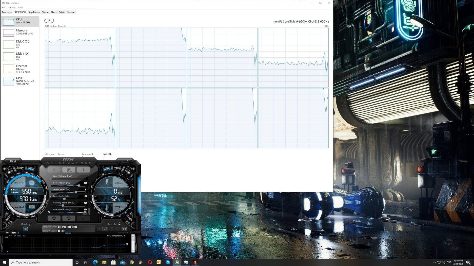 Yakuza 6 CPU usage