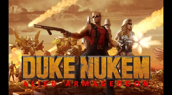 Duke Nukem 3D Alien Armageddon feature