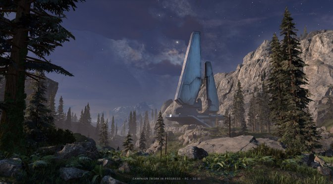 New Halo Infinite PC 32:9 super ultrawide screenshots