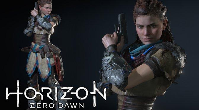 Horizon Zero Dawn Aloy Mod for Resident Evil 3 Remake