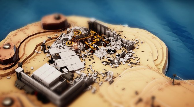 Teaser trailer released for a physics-based game by Red Faction Guerrilla lead tech designer