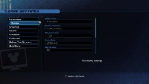 Kingdom Hearts 3 PC graphics settings-1