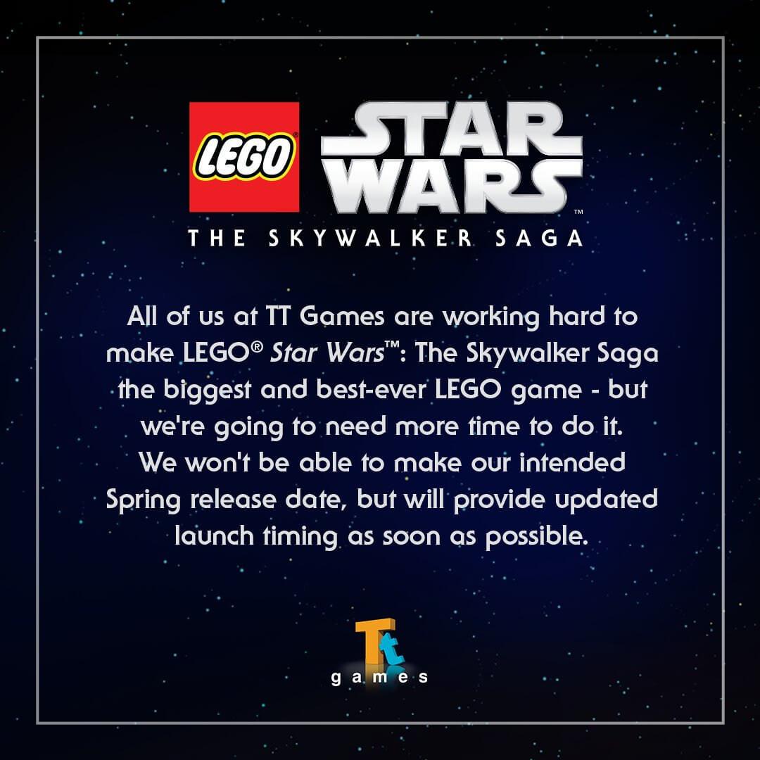 LEGO SWTSS delay
