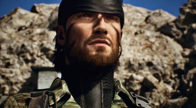 Metal Gear Solid 3 Fan Remake Unreal Engine 4