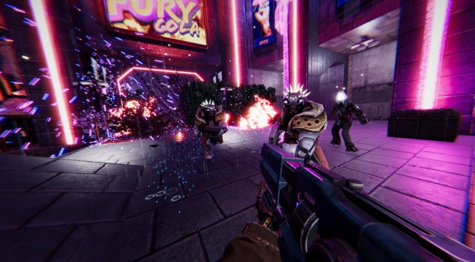 Turbo Overkill is a new retro cyberpunk FPS, coming soon on PC