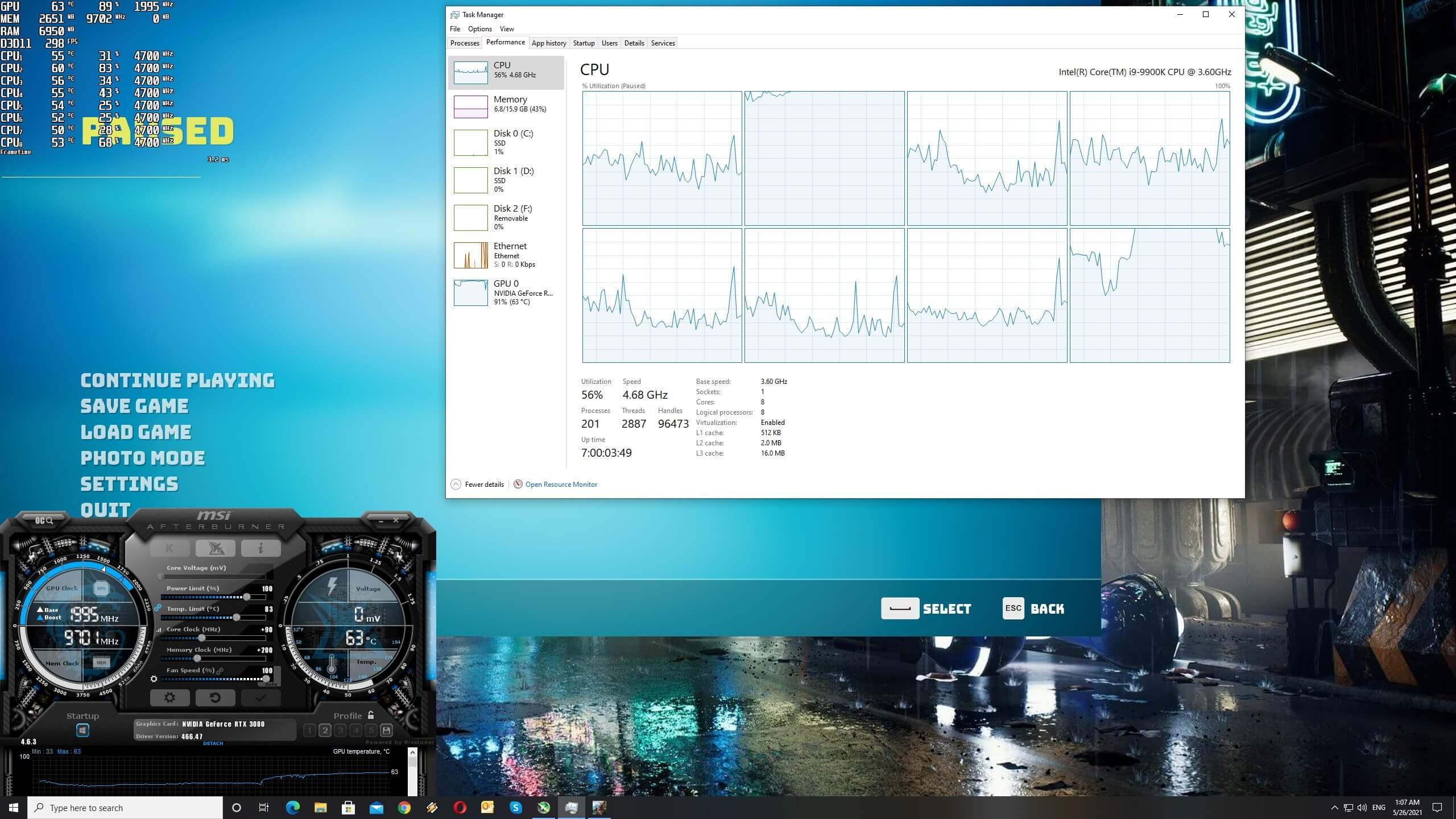 Biomutant CPU scaling