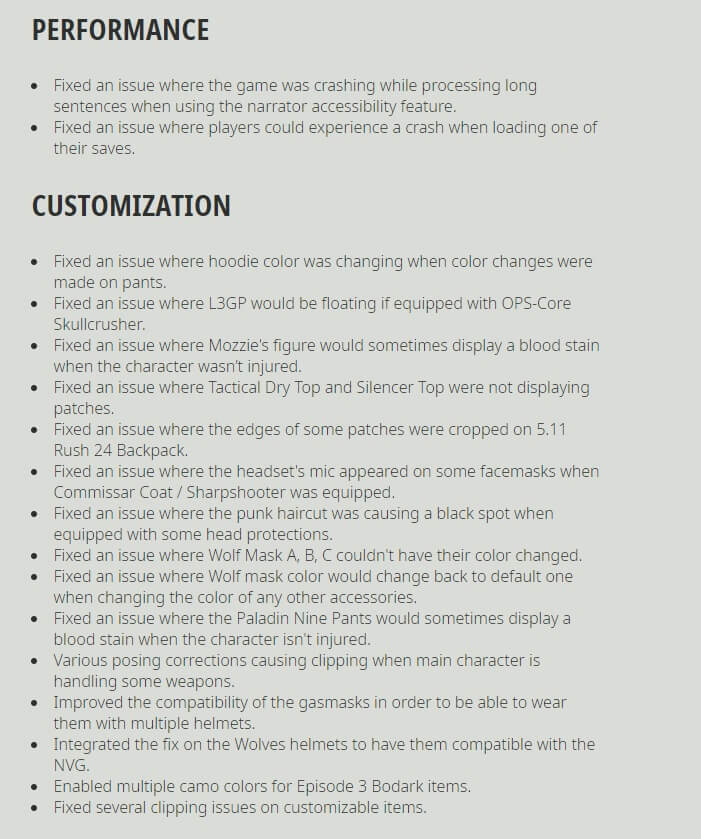 Ghost Recon Breakpoint Title Update 4.0.0 Release Notes-6
