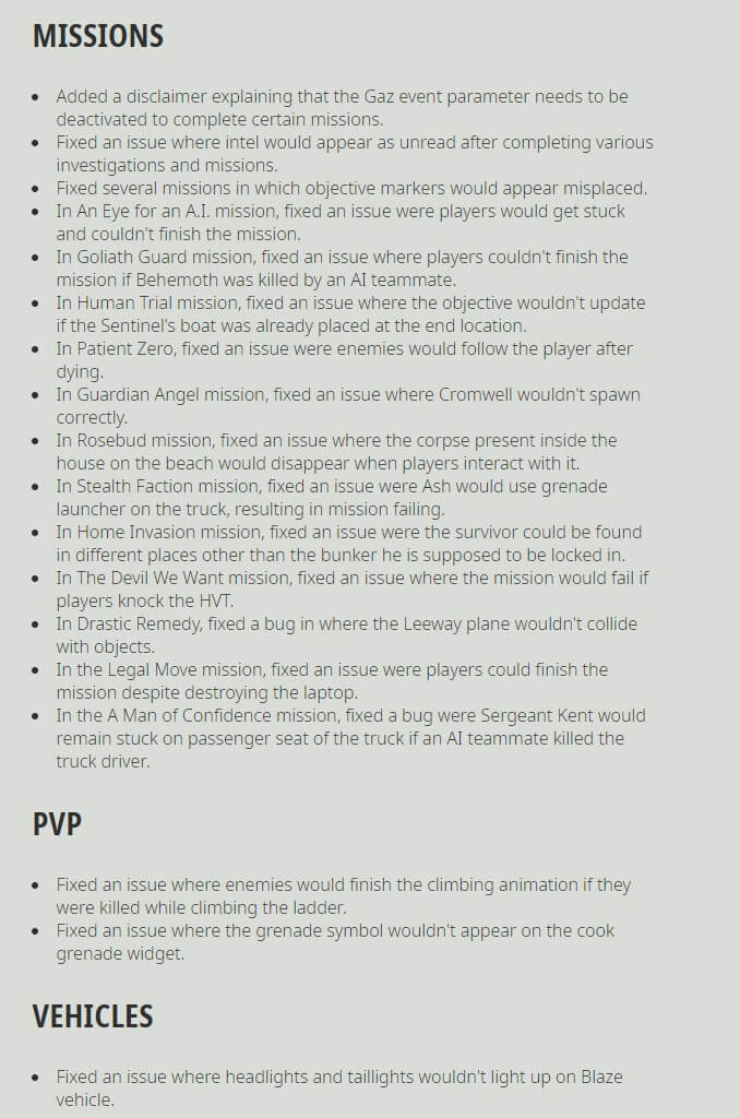 Ghost Recon Breakpoint Title Update 4.0.0 Release Notes-8