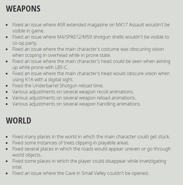 Ghost Recon Breakpoint Title Update 4.0.0 Release Notes-9