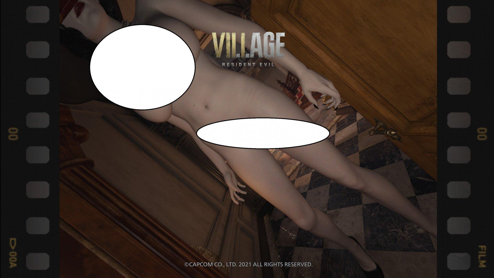 Lady Dimitrescu Nude Mod-1