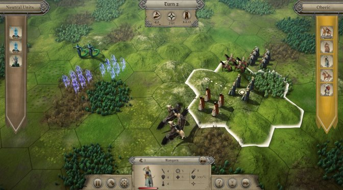 Master of Magic Remake announced, releases in 2022, first screenshots