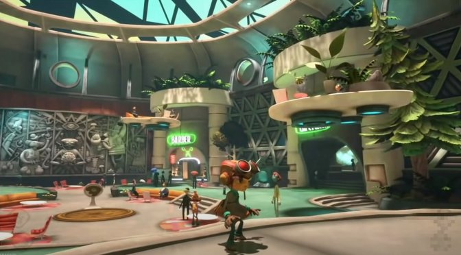 Here are some leaked in-game screenshots for Psychonauts 2
