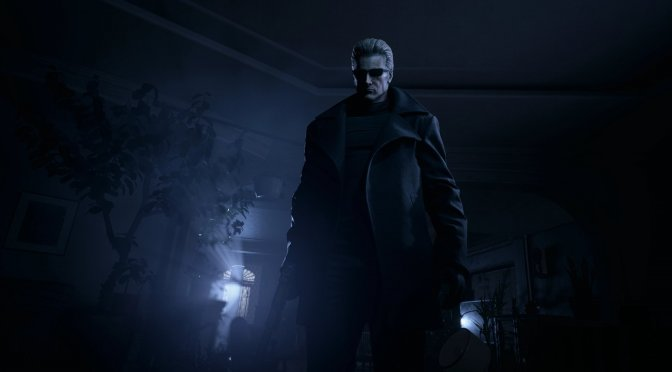 This mod brings Albert Wesker to Resident Evil Village