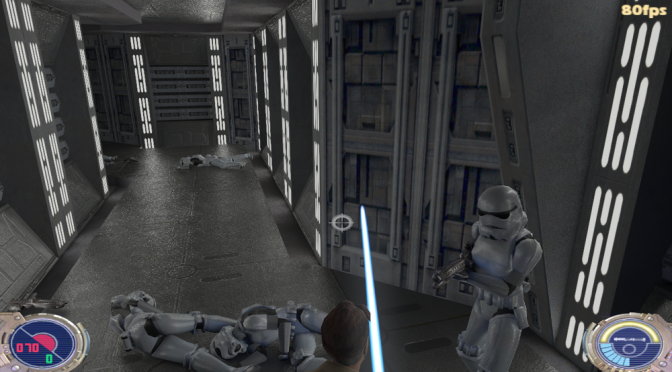 Modder is working on a full ray tracing mod for Star Wars Jedi Knight II: Jedi Outcast