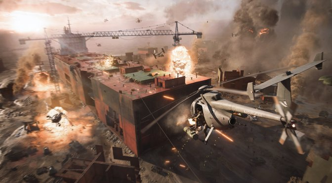 Here are the PC system requirements for Battlefield 2042's upcoming beta