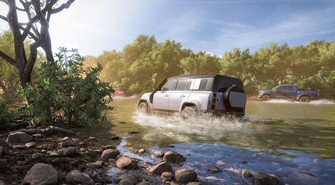 New Forza Horizon 5 in-engine footage shows weather and lighting effects