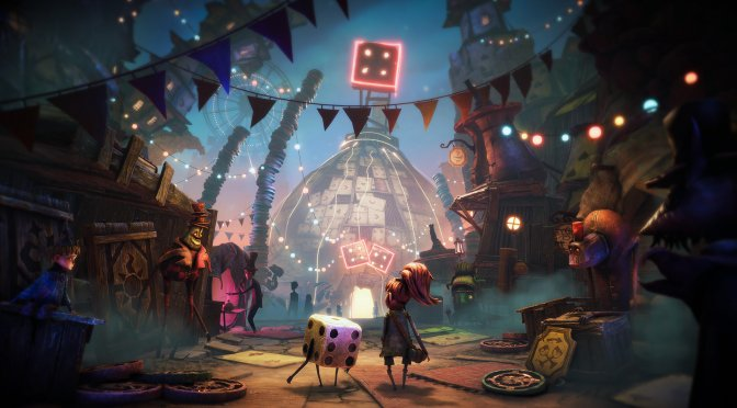 Lost in Random is a new gothic fairytale-inspired action-adventure game