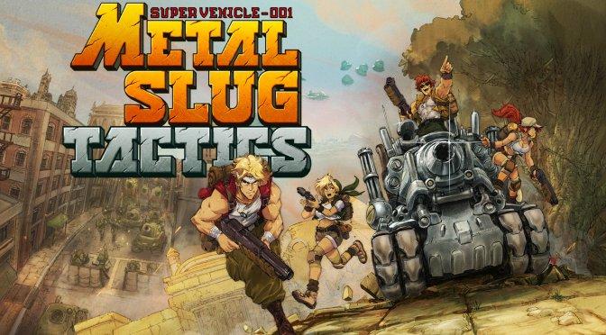 First gameplay trailer released for Metal Slug Tactics
