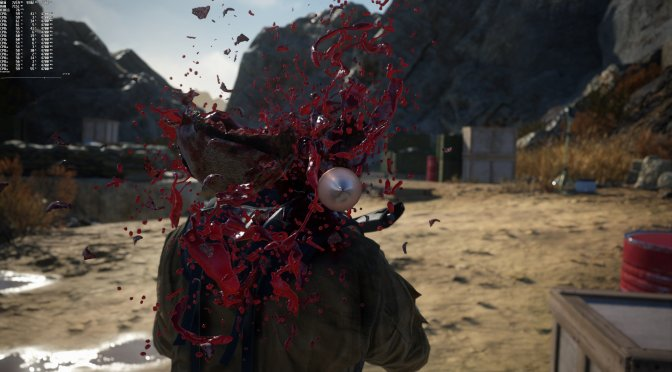 Sniper Ghost Warrior Contracts 2 blood effects