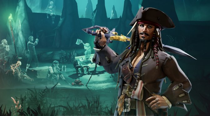 First screenshots for the Pirates of the Caribbean free DLC of Sea of Thieves