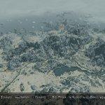 The Elder Scrolls V Skyrim next-gen pseudo 3D world map-5
