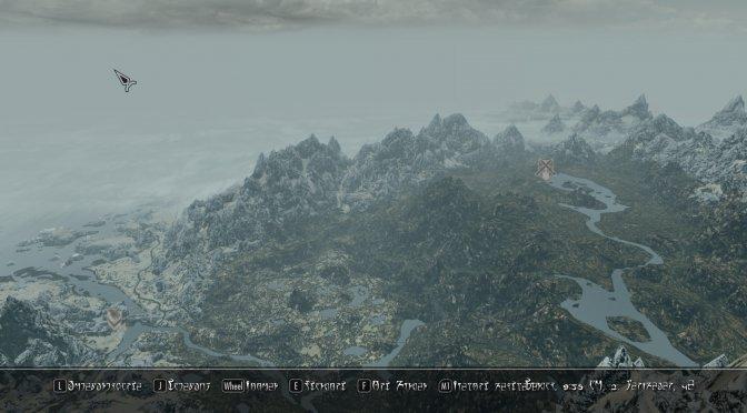 The Elder Scrolls V: Skyrim gets a next-gen pseudo 3D world map mod