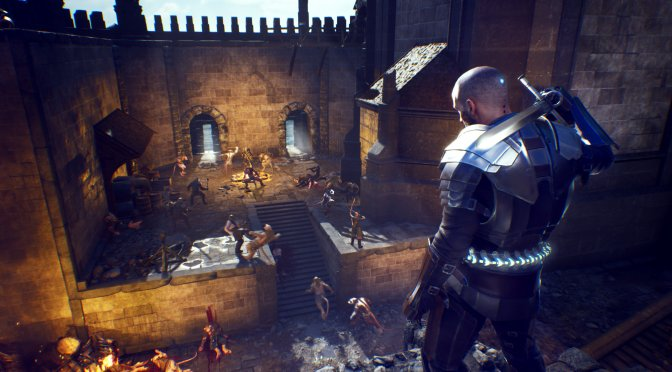 First screenshots for the upcoming action RPG, The Last Oricru