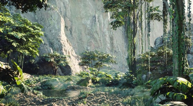 Unreal Engine 5 Nanite & Lumen Photorealistic Forest running on RTX 3070